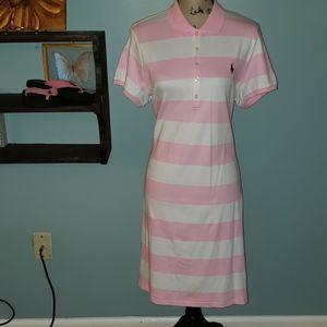 New Polo Ralph Lauren Classic Collared Dress